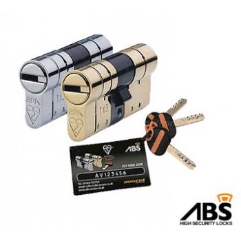 Cilindrični vložki ABS brez gumba