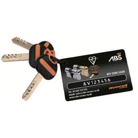 Dodaten ključ za ABS cilindrični vložek