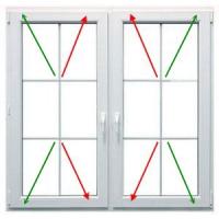 Protivlomno varovalo za okna in vrata - rjave barve